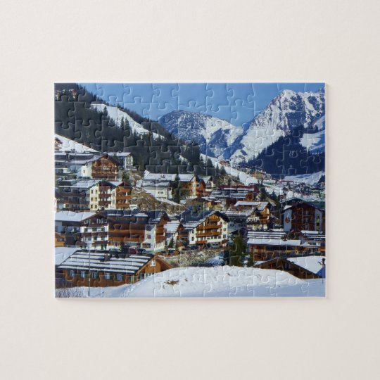 Lech am Arlberg in Austria - Puzzle