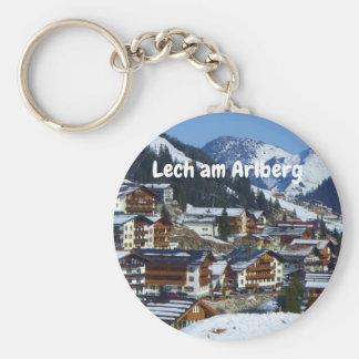 Lech am Arlberg in Austria Souvenir Keychain