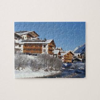 Lech in Austria - Puzzle