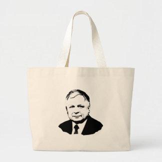 Lech Kaczynski Large Tote Bag