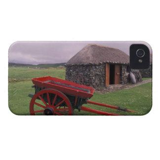 L'Ecosse, île de Skye, Kilmuir. Paysage rural Coque iPhone 4