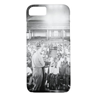 Lecture at the S.A.T.C. Tuskegee Normal_War Image iPhone 7 Case