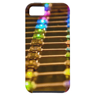LED Abstraction iPhone 5 Covers