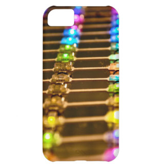LED Abstraction iPhone 5C Covers