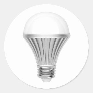LED bulb Classic Round Sticker