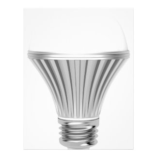 LED bulb Customized Letterhead