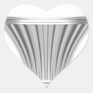 LED bulb Heart Sticker