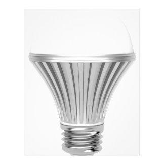 LED bulb Letterhead