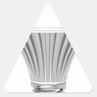 LED bulb Triangle Sticker
