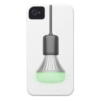 LED bulbs with different colors iPhone 4 Case-Mate Cases