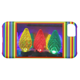 LED Colored Art Case For iPhone 5C