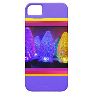 LED Colored Lights iPhone 5 Covers