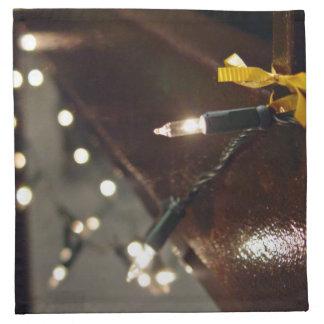 LED Light String Printed Napkin