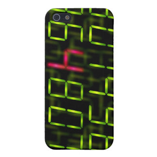 LED number red iPhone 5 Case