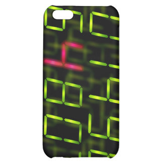 LED number red iPhone 5C Case