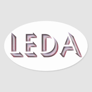 Leda sticker