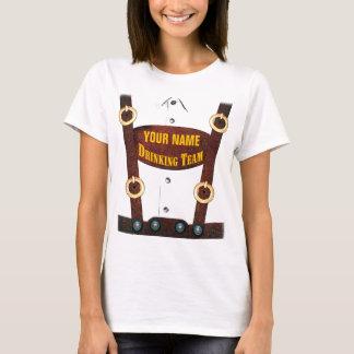 Lederhosen Drinking Team T-Shirt