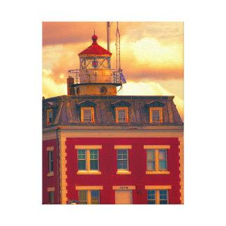Ledge Light Canvas Print