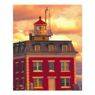 Ledge Light Photo Print