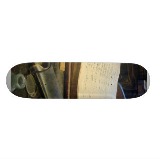 Ledger and Eyeglasses Skateboard Decks