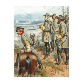 Lee at Fredericksburg 1862 Canvas Print