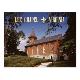 Lee Chapel, Robert E. Lee's Final Resting Place Postcard