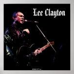 Lee Clayton Live Poster