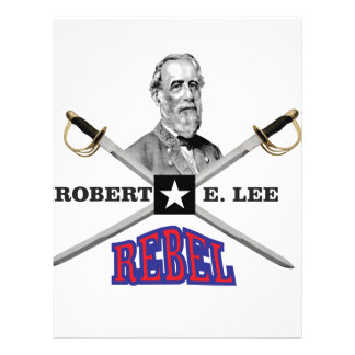Lee purple rebel customized letterhead