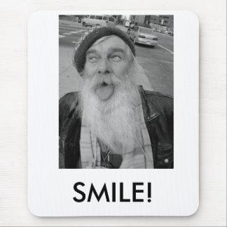 Lee tongue, SMILE! Mouse Pad