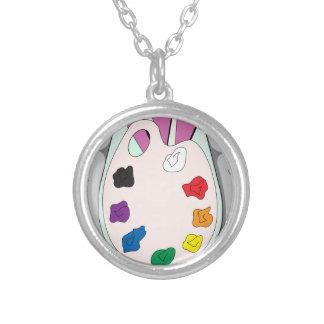 Lee Walker Fine Art Silver Plated Necklace