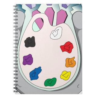 Lee Walker Fine Art Spiral Notebook