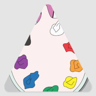 Lee Walker Fine Art Triangle Sticker