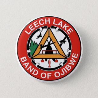 Leech Lake Band of Ojibwe 2 Inch Round Button