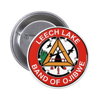 Leech Lake Band of Ojibwe 2 Inch Round Button