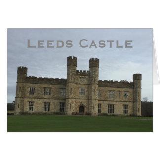 Leeds Castle Card