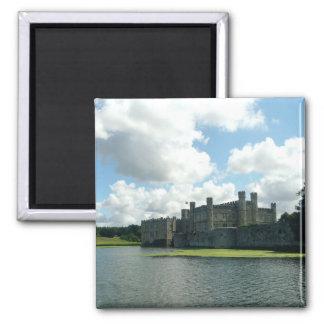 Leeds Castle Square Magnet
