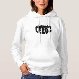 Leeds England Cityscape Skyline Hoodie