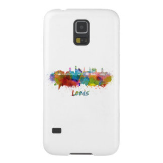 Leeds V2 skyline in watercolor Galaxy S5 Covers