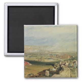Leeds (w/c on wove paper) square magnet