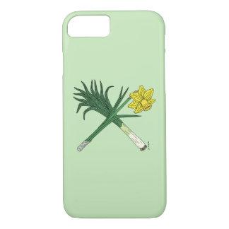 Leek and Daffodil Crossed iPhone 8/7 Case