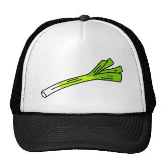 leek trucker hat