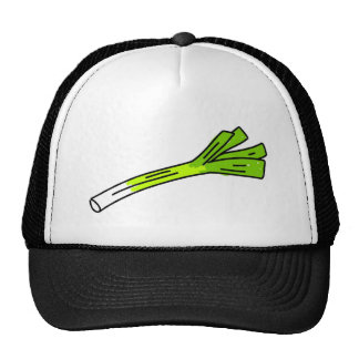 leek trucker hat