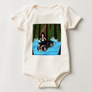 Leena on ATV xD Baby Bodysuit