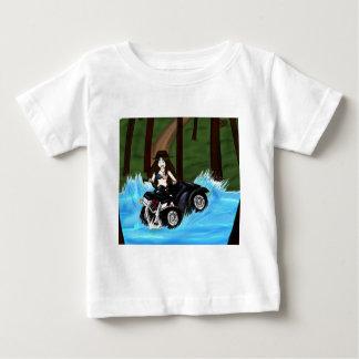Leena on ATV xD Baby T-Shirt