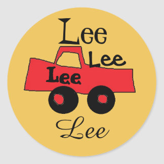 Lee's Truck Stickers
