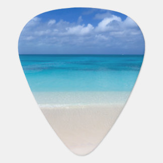 Leeward Beach   Turks and Caicos Photo Guitar Pick