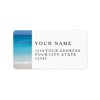 Leeward Beach | Turks and Caicos Photo Label