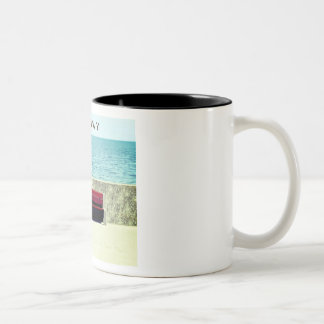 Leeway Two-Tone Coffee Mug