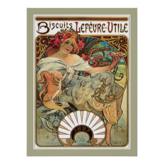 Lefevre Biscuits poster