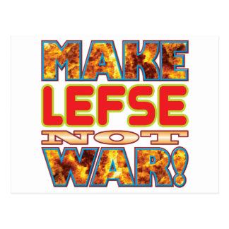 Lefse Make X Postcard
